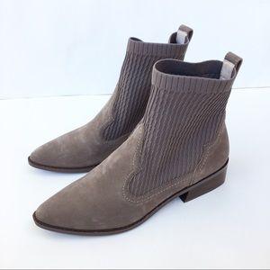 NEW Cecelia New York Gray Tomas Sock Booties